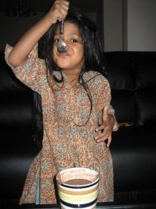 Yummy!  Ragi in a Cup
