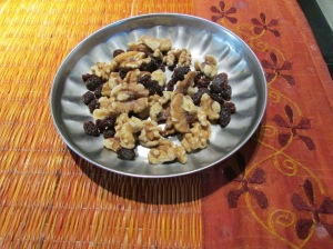 Walnuts and Raisins!