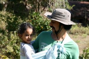 Karthik Appa goes native with Disha tied on.