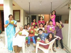 Tender Coconut  - fun for all ages