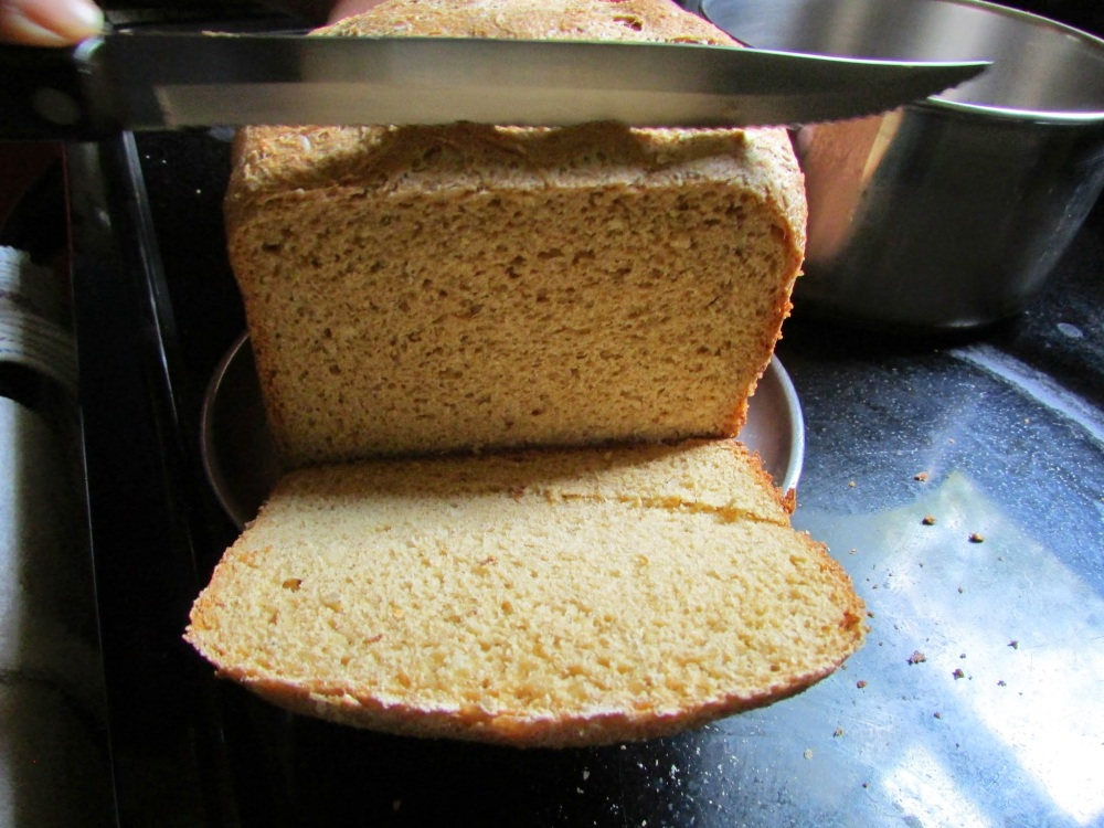 Baking bread at home (6/6)