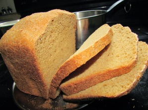 Sliced bread … so pretty!