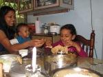 lunch with Sunita