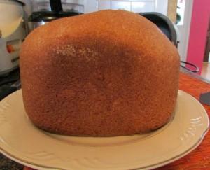 Voila! Whole wheat bread.