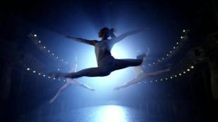 Angela Paris, dancer, in an advertisement for Always sanitary napkins.