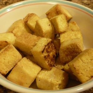 Stir-Fried Tofu Cubes