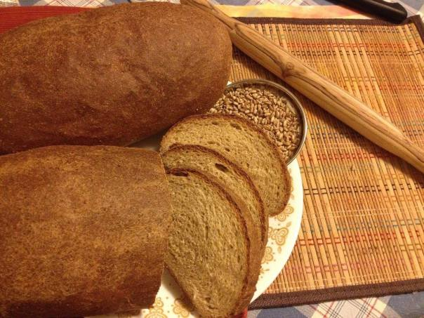 early milled wheat bread