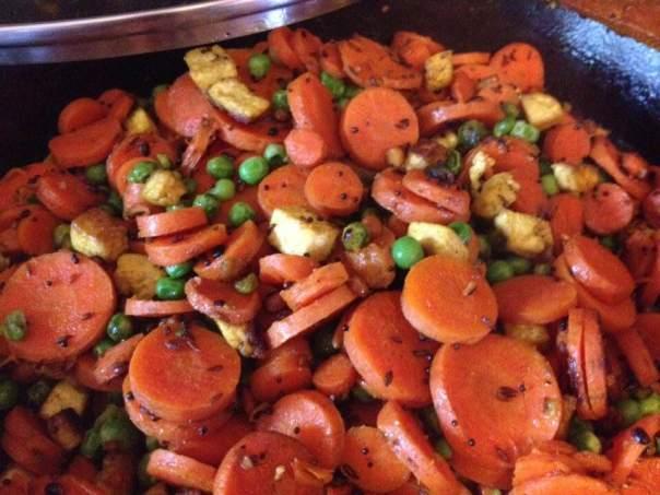 carrot kura cooked